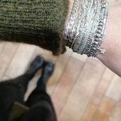 Manchette @dorianebijoux 🥰 . #bijoux #terredefemmesbijoux #brest #silver #madeinfrance #faitenfrance #fashion #bijouxdecreateurs #creation #hautefantaisie #doriane #terredefemmesbrest #commercedeproximite #bijoux #jewelry #jewels #girls